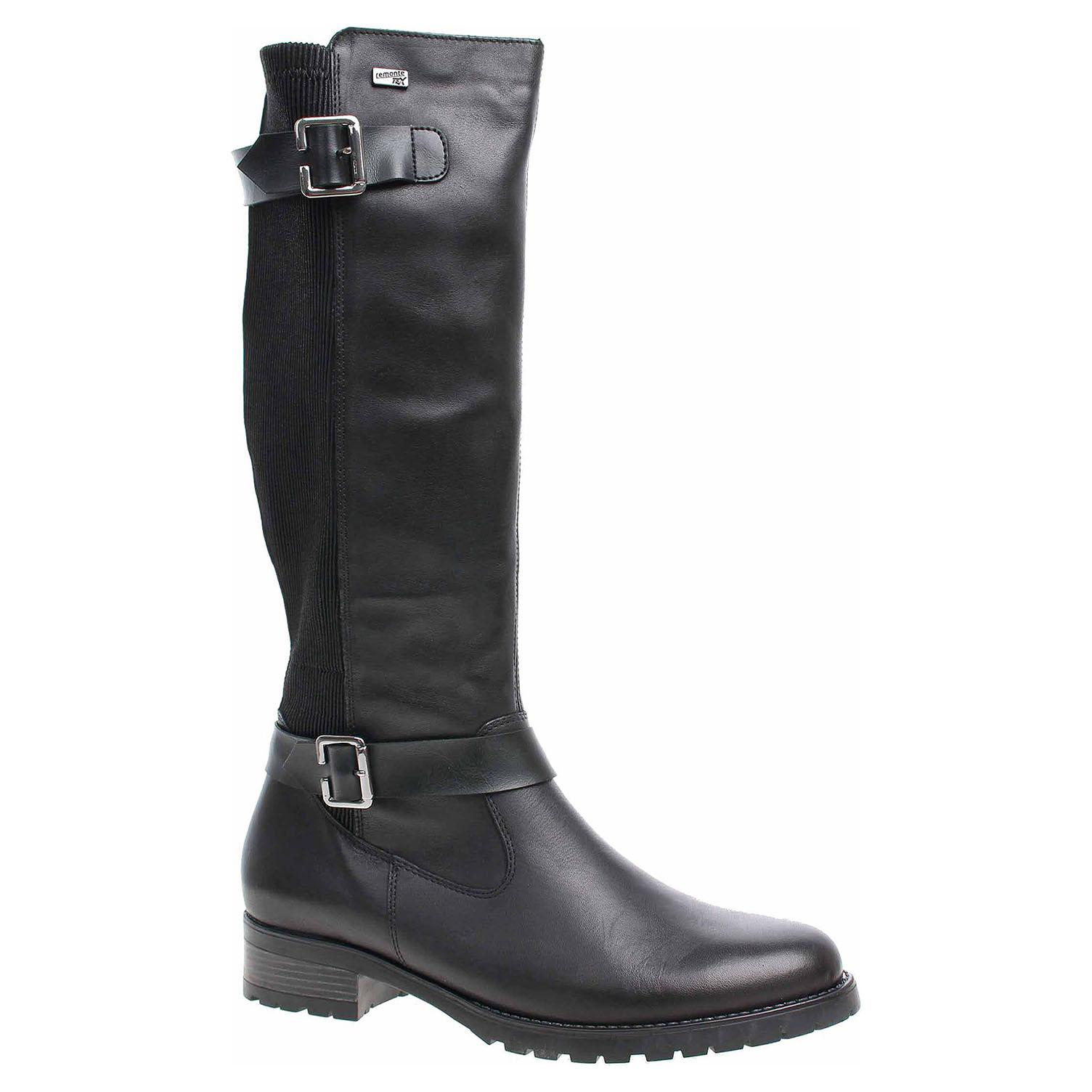 38793c50fa15e Dámske čižmy Remonte D8284-01 schwarz   REJNOK obuv