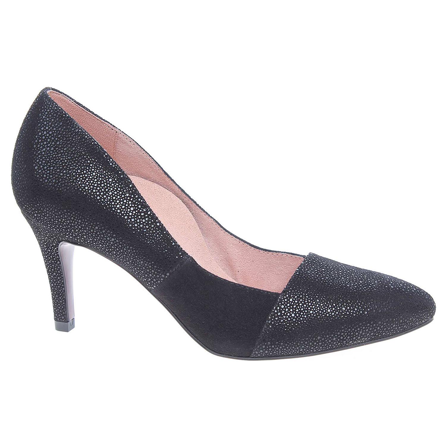 09d96e3fee308 Dámske lodičky Tamaris 1-22405-29 černé   REJNOK obuv