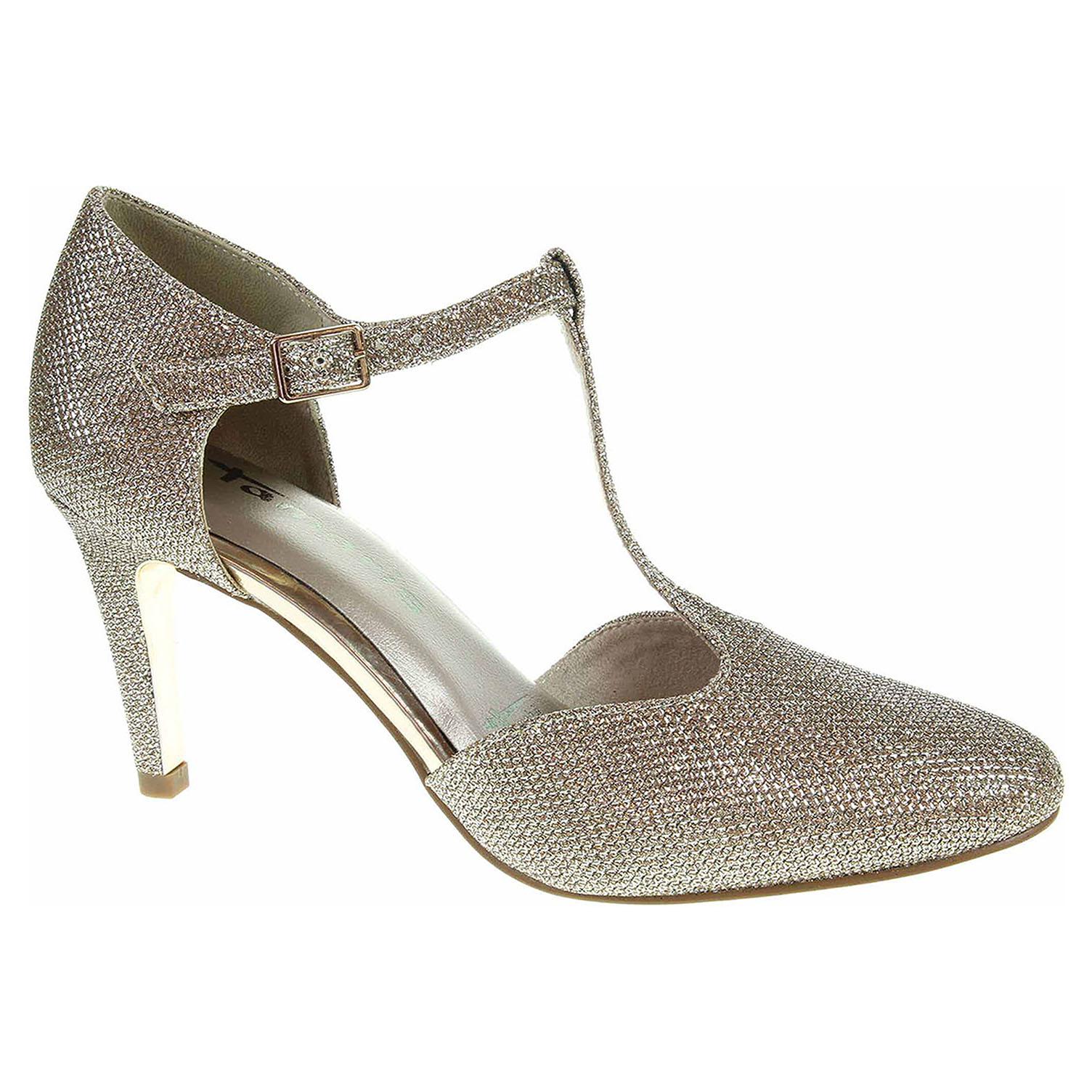 c40cf01e282e detail Dámska spoločenské topánky Tamaris 1-24438-39 zlaté