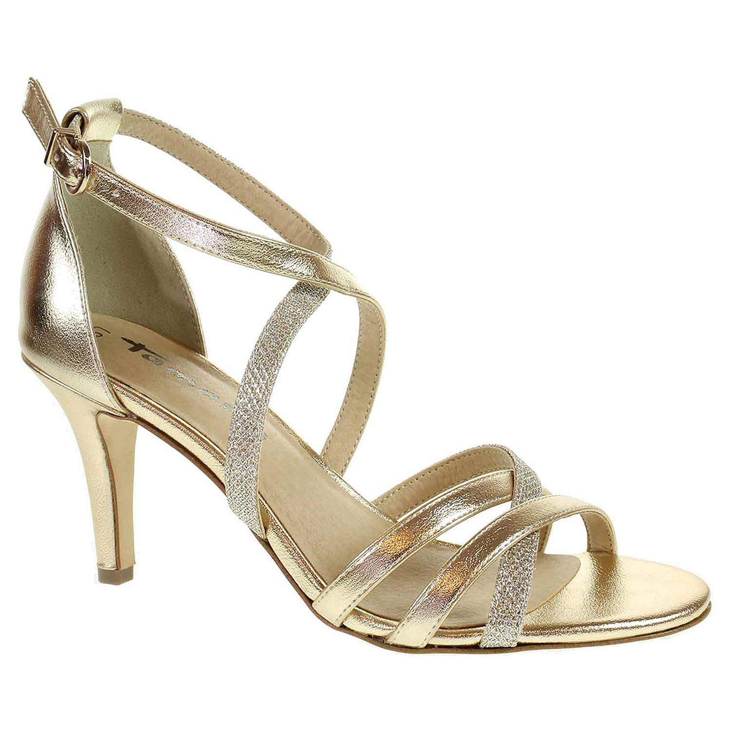 381725a75cf75 Dámska spoločenské topánky Tamaris 1-28302-31 gold comb | REJNOK obuv