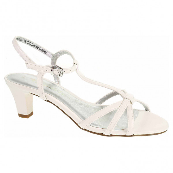 c78ce0142d detail Dámska spoločenské topánky Tamaris 1-28329-22 108 white matt