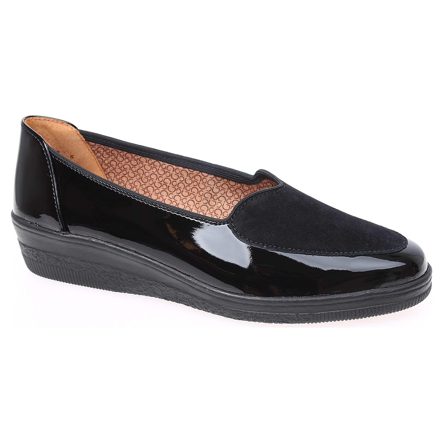 13ffcba35 Dámske mokasiny Gabor 76.404.97 černé | REJNOK obuv