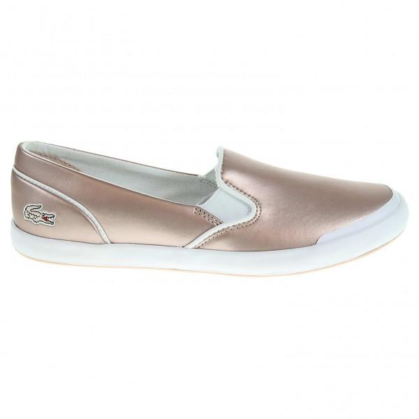 detail Lacoste Lancelle Slip-On dámská obuv růžová 12ccd3161d