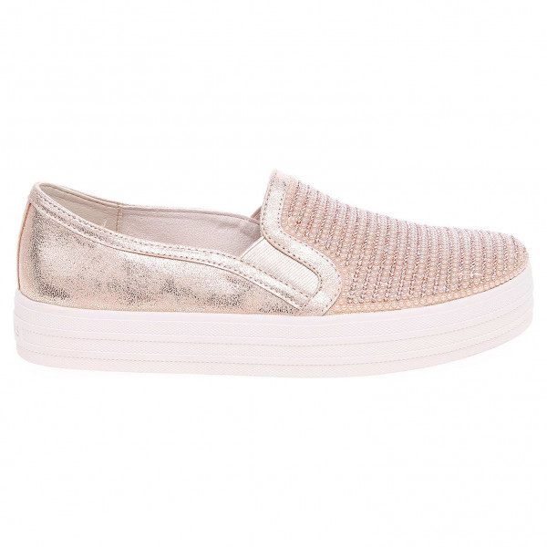 cde62f958698 detail Skechers Double Up - Shiny Dancer rose gold