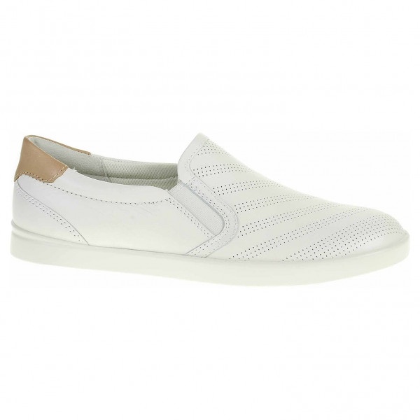 detail Dámske mokasiny Ecco Leisure 20504359529 white-powder