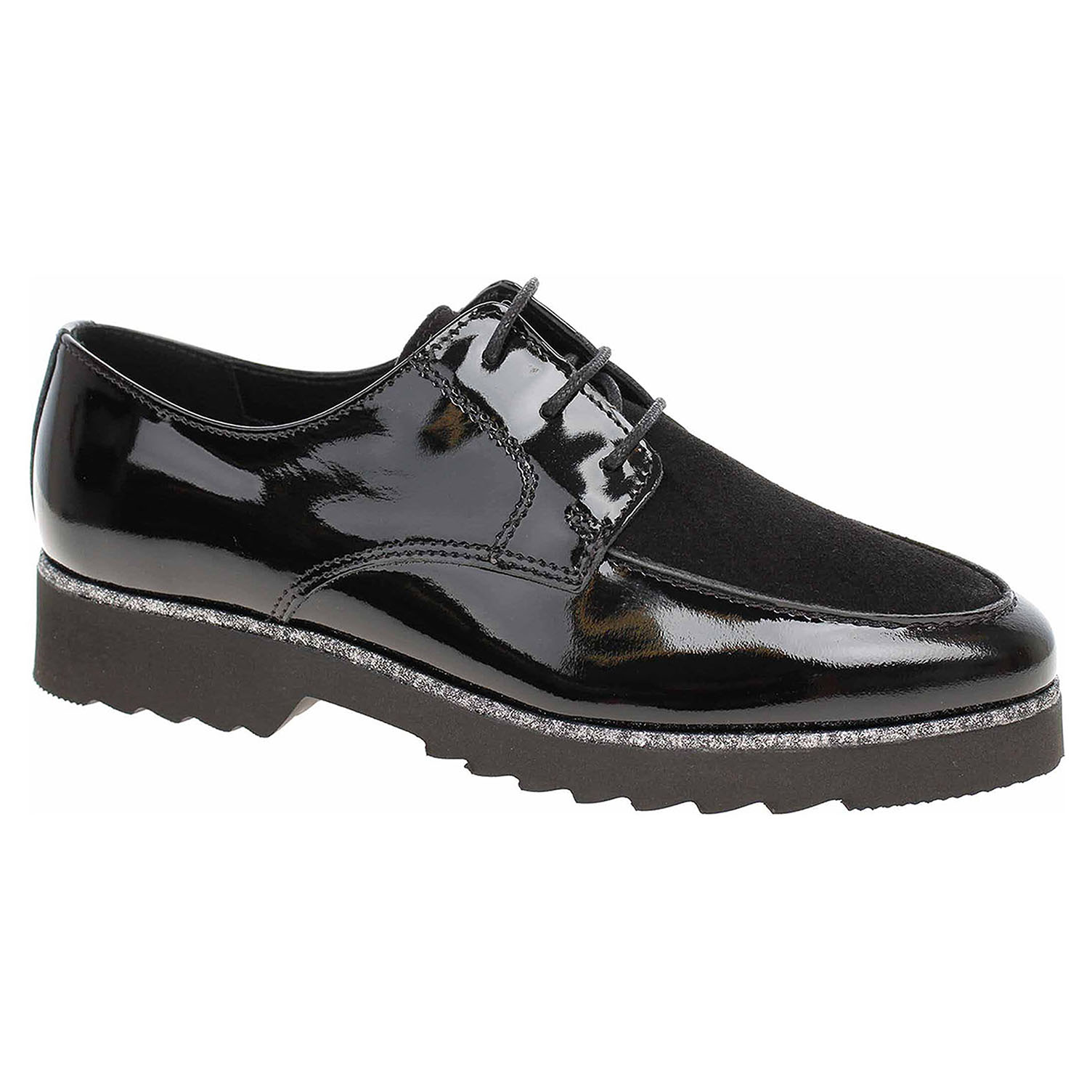 376cf7f6f2396 Dámske poltopánky Salamander 32-12503-61 black | REJNOK obuv