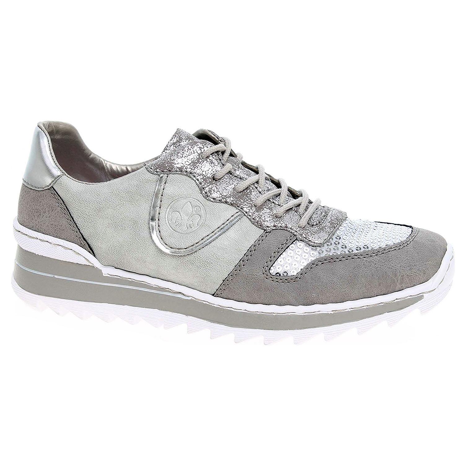 f1bb3b5891c21 Dámska topánky Rieker M6902-42 šedá | REJNOK obuv