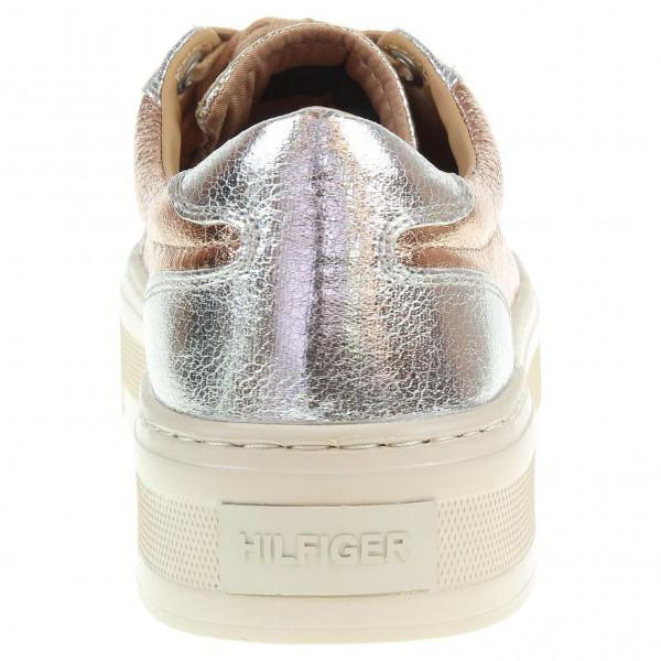 ee4de52df6f detail Tommy Hilfiger dámská obuv FW0FW01033 D1385OLLY 1Z1 zlatá-růžová