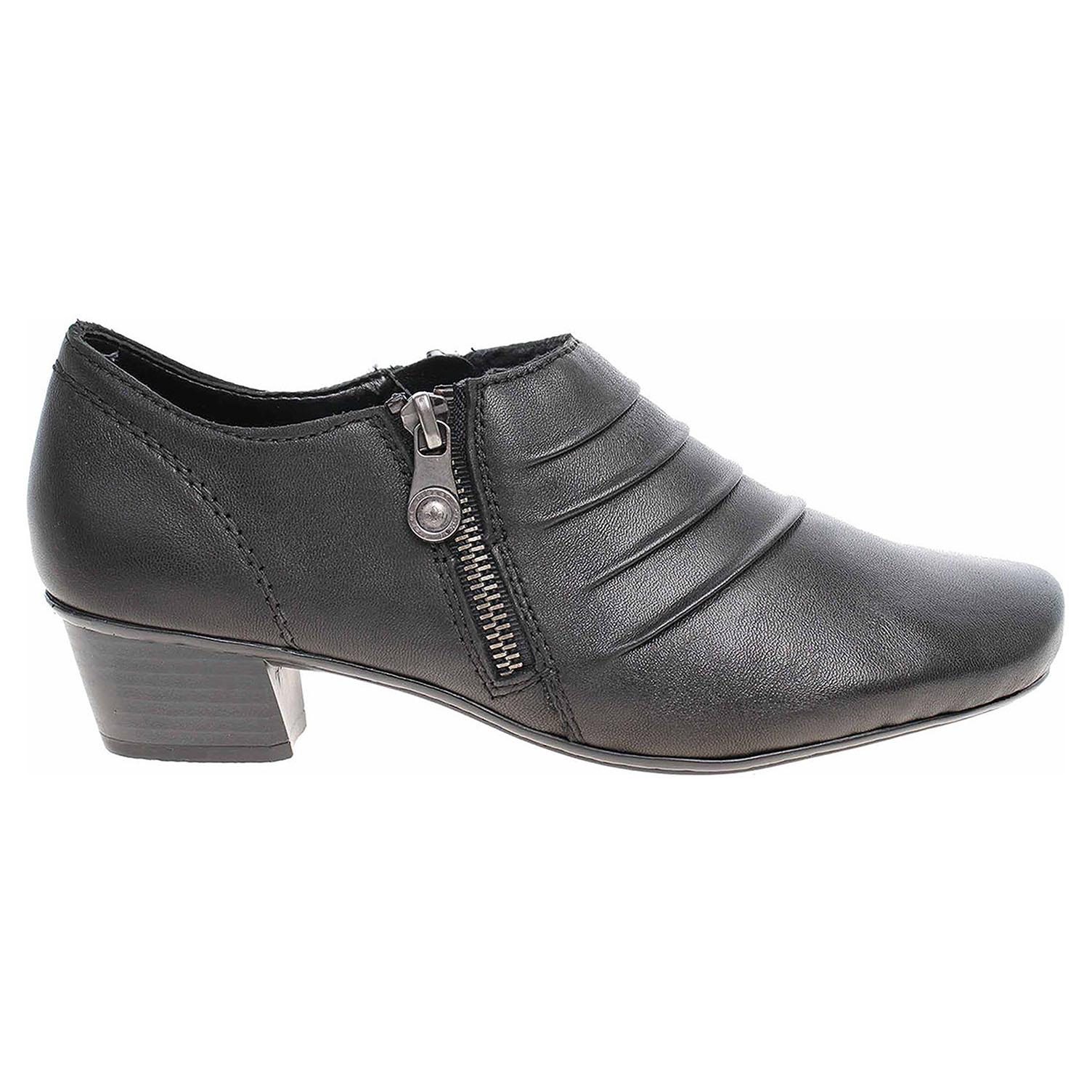 Rieker dámská obuv 53871-01 schwarz  791ad8854a