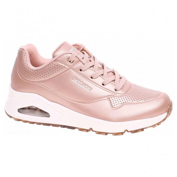 detail Skechers Uno - Rose Bold rose gold