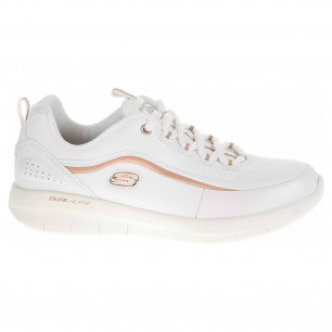 Skechers Synergy 2.0 - Heavy Metal white rose gold