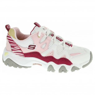 Skechers D´Lites 2.0 - Tidal Waves white-pink