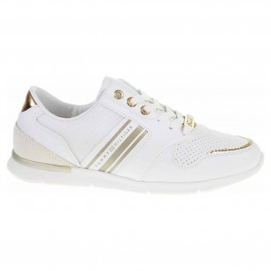 Dámská obuv Tommy Hilfiger FW0FW04701 0K7 white/light gold