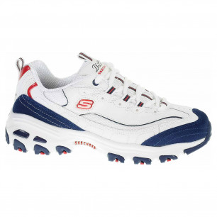 Skechers D´Lites - March Forward white-navy-red