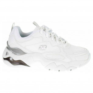 Skechers D´Lites 3.0 Air - Golden Rules white-silver