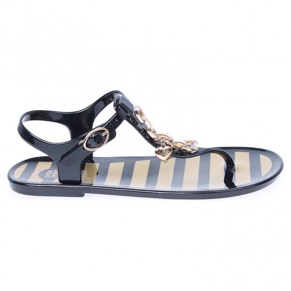 detail Gioseppo Paladium black dámské plážové sandály d56542a5d2