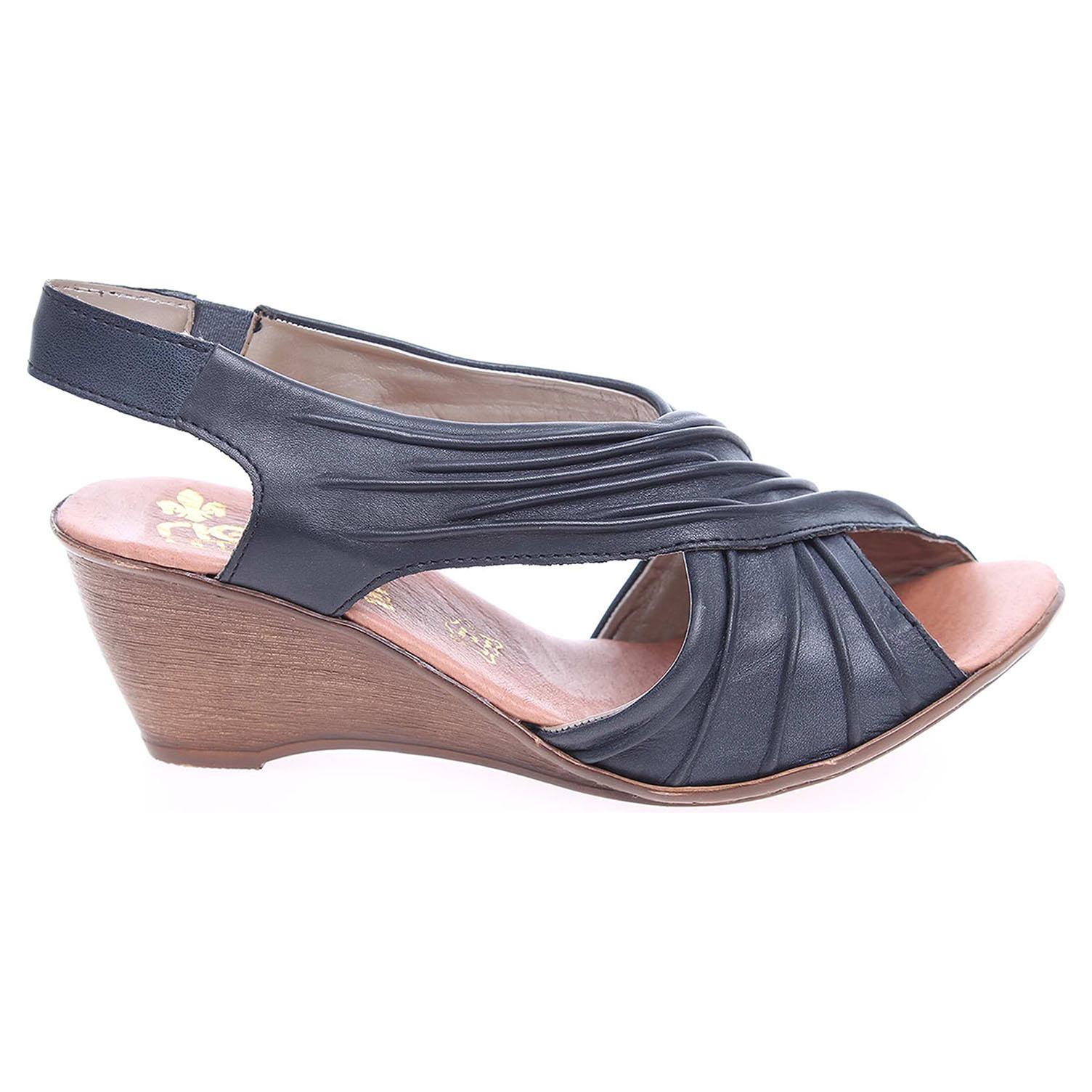 62dcd5094f4d8 Rieker dámské sandály V1173-12 modré | REJNOK obuv