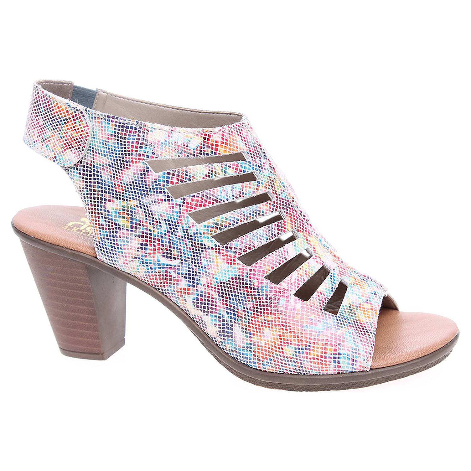 aa39b0c99d9f4 Dámske sandále Rieker 64195-90 multi   REJNOK obuv