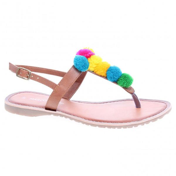 bcb87a85ff detail Dámske sandále Marco Tozzi 2-28127-28 hnědé