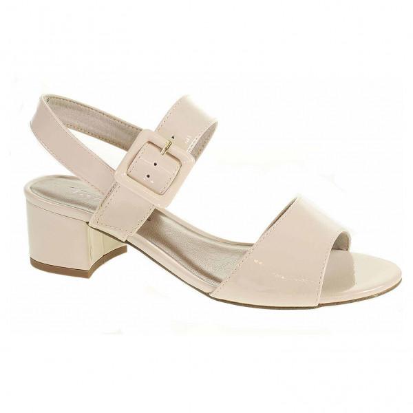 5c96262cfe detail Dámska spoločenské topánky Tamaris 1-28211-22 cream patent