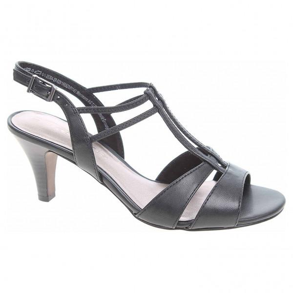 974ed9f30230b Dámska spoločenské topánky Tamaris 1-28304-22 black matt | REJNOK obuv