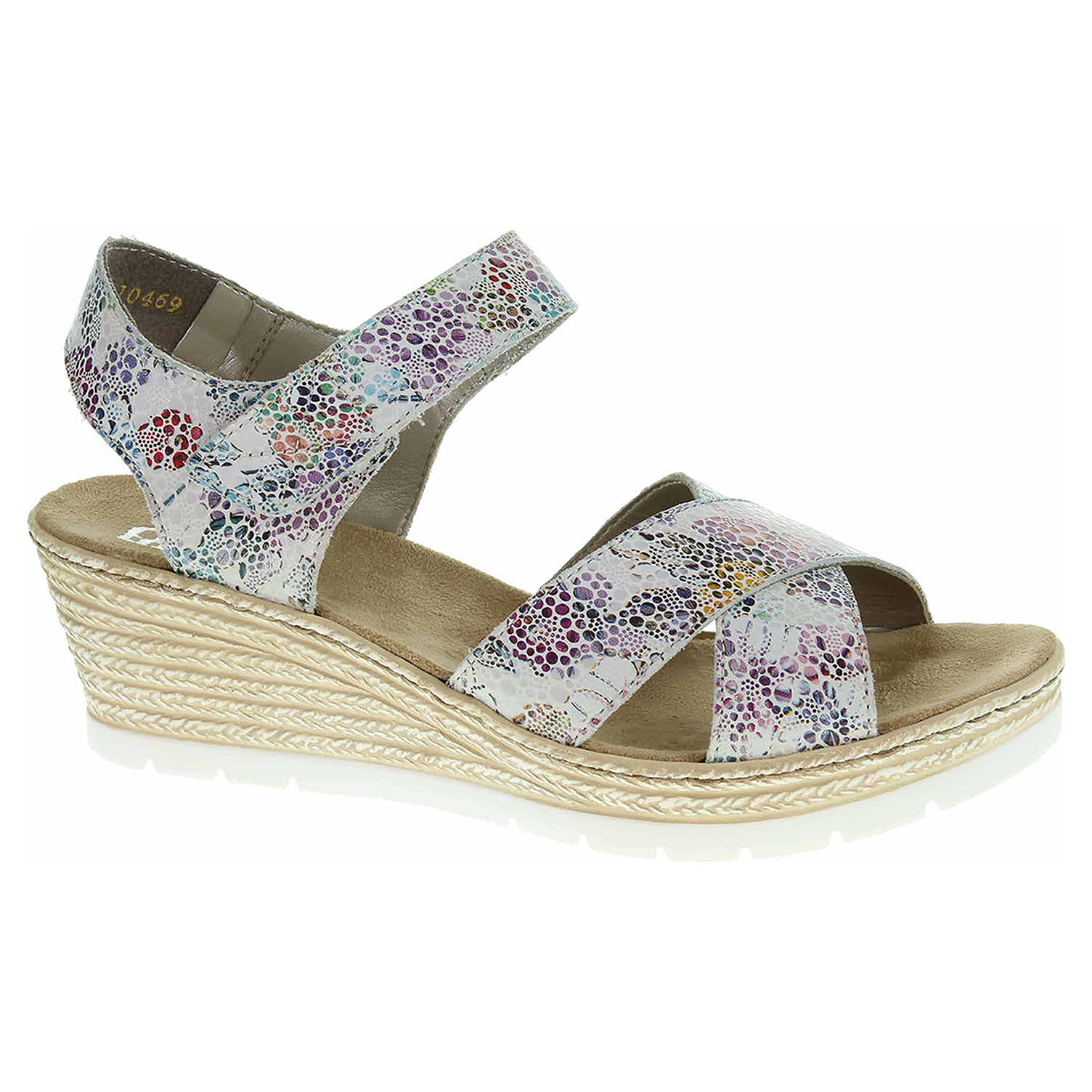 6080da004fa14 Dámske sandále Rieker 61943-90 multi | REJNOK obuv
