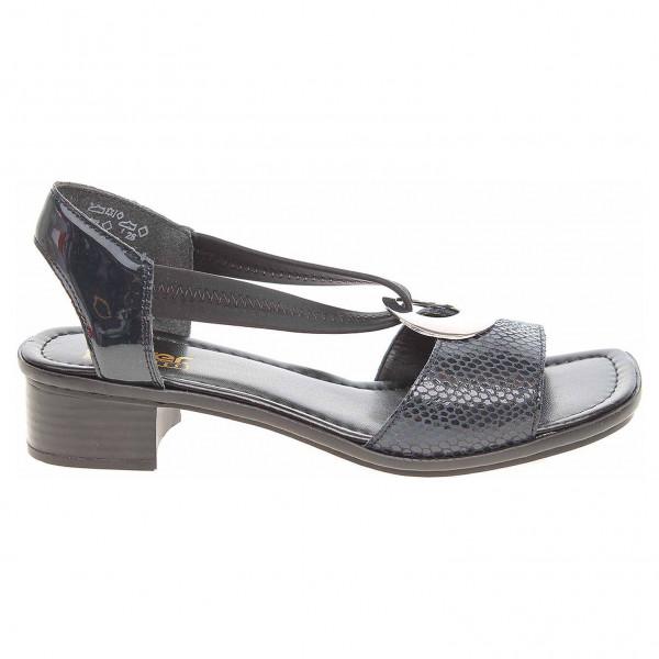 detail Rieker dámské sandály 62662-14 blau 2a2a849d8ce