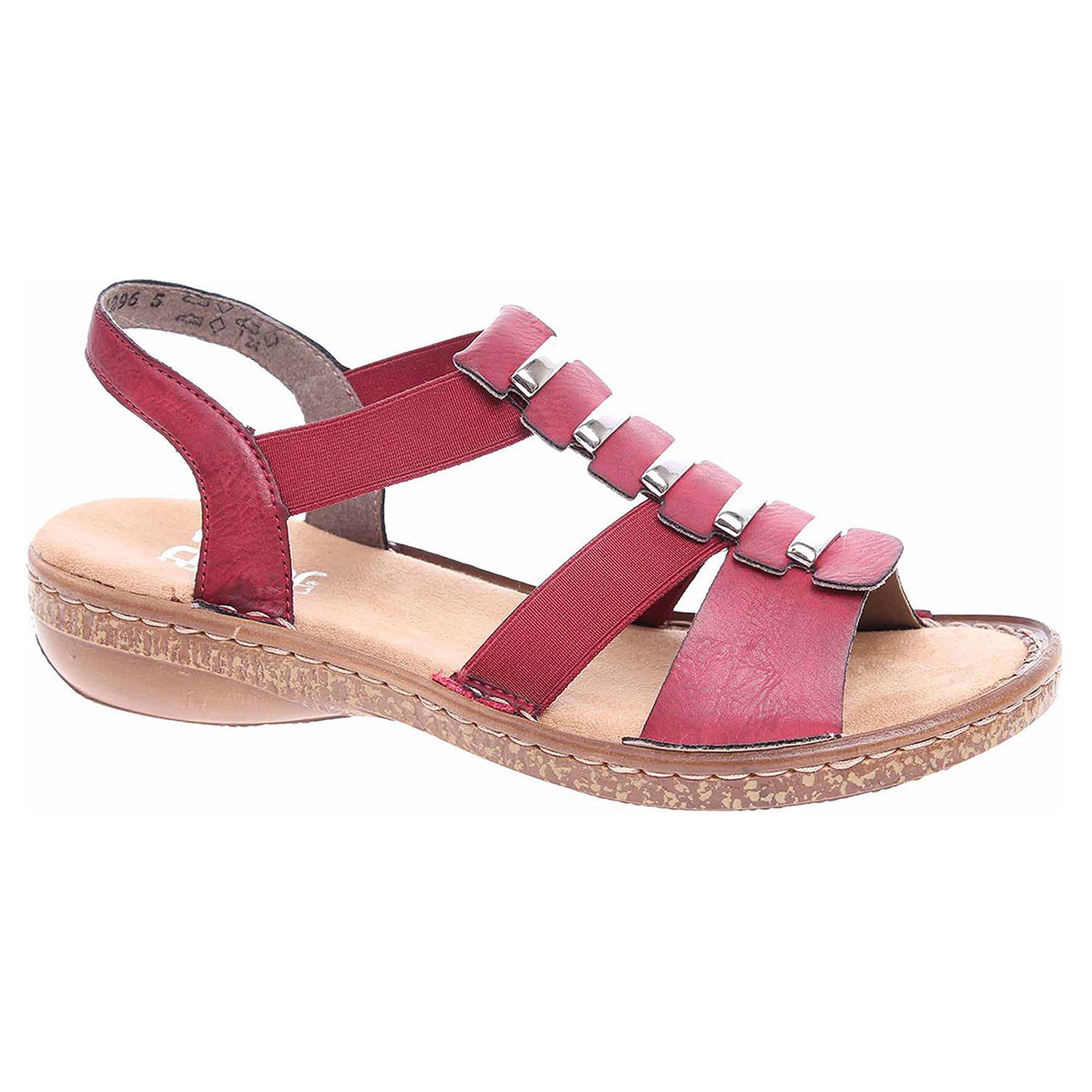 0faf67d13ef1 detail Dámske sandále Rieker 62850-35 rot