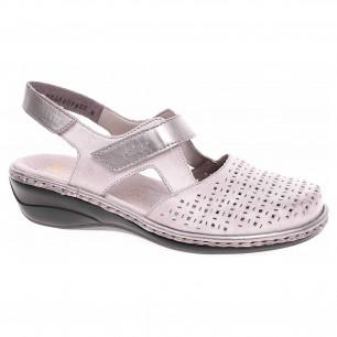 4dfbb010e94a Dámske sandále Rieker 65969-42 grau kombi