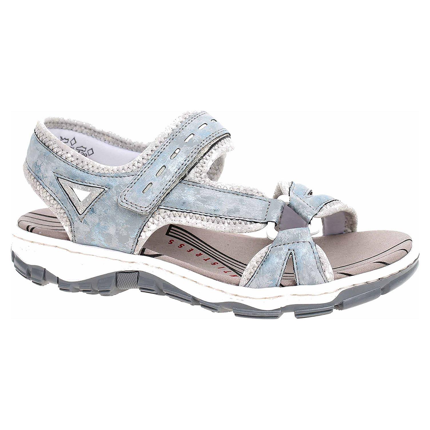 d7d96408eaf2 detail Dámske sandále Rieker 68879-12 blau