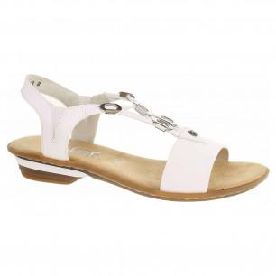 dbf4ed9a0ce6 Dámske sandále Rieker 60800-14 blau