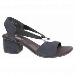 fe62249fdea5 Dámske sandále Rieker 64673-14 blau kombi