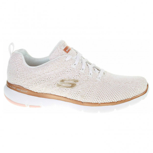detail Skechers Flex Appeal 3.0 - Metal Works white-rose-gold
