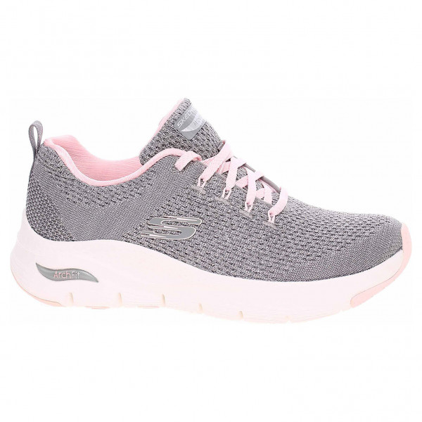 detail Skechers Arch Fit - Infinite Adventure gray-pink