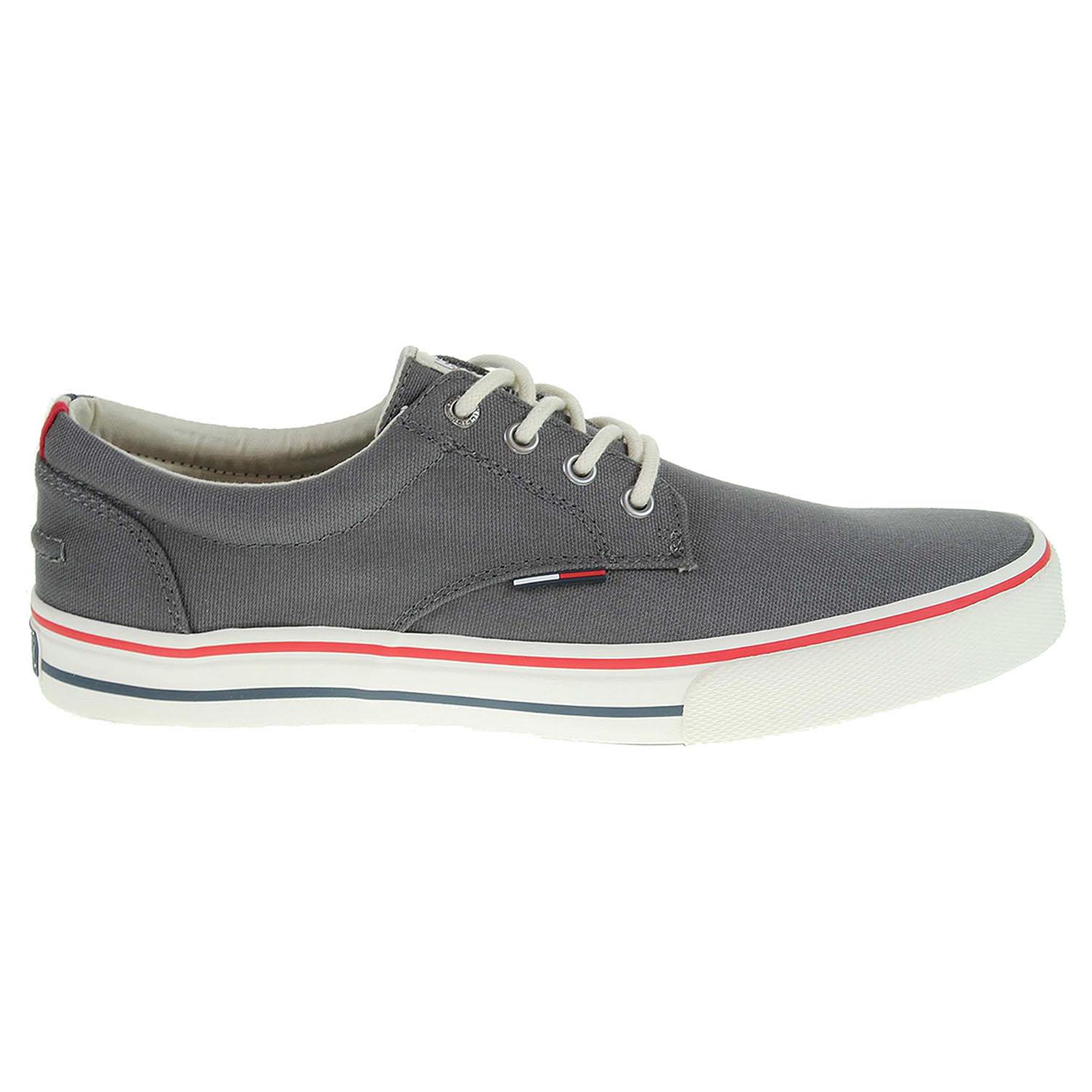 214a232d74 detail Tommy Hilfiger pánská obuv FM0FM00300 v2385ic 1d šedé