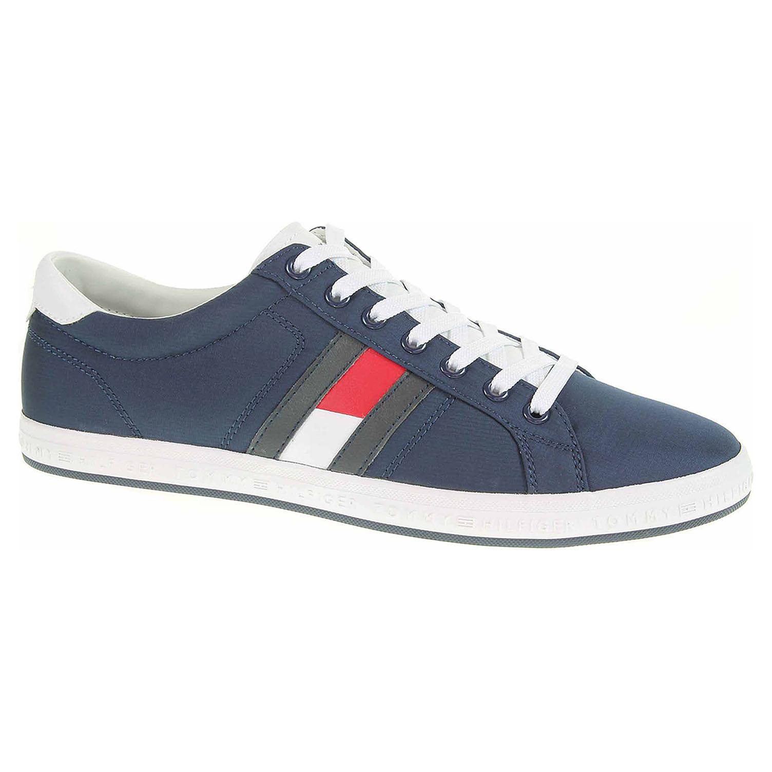 22d9c5252 Pánska topánky Tommy Hilfiger FM0FM01535 tommy navy | REJNOK obuv