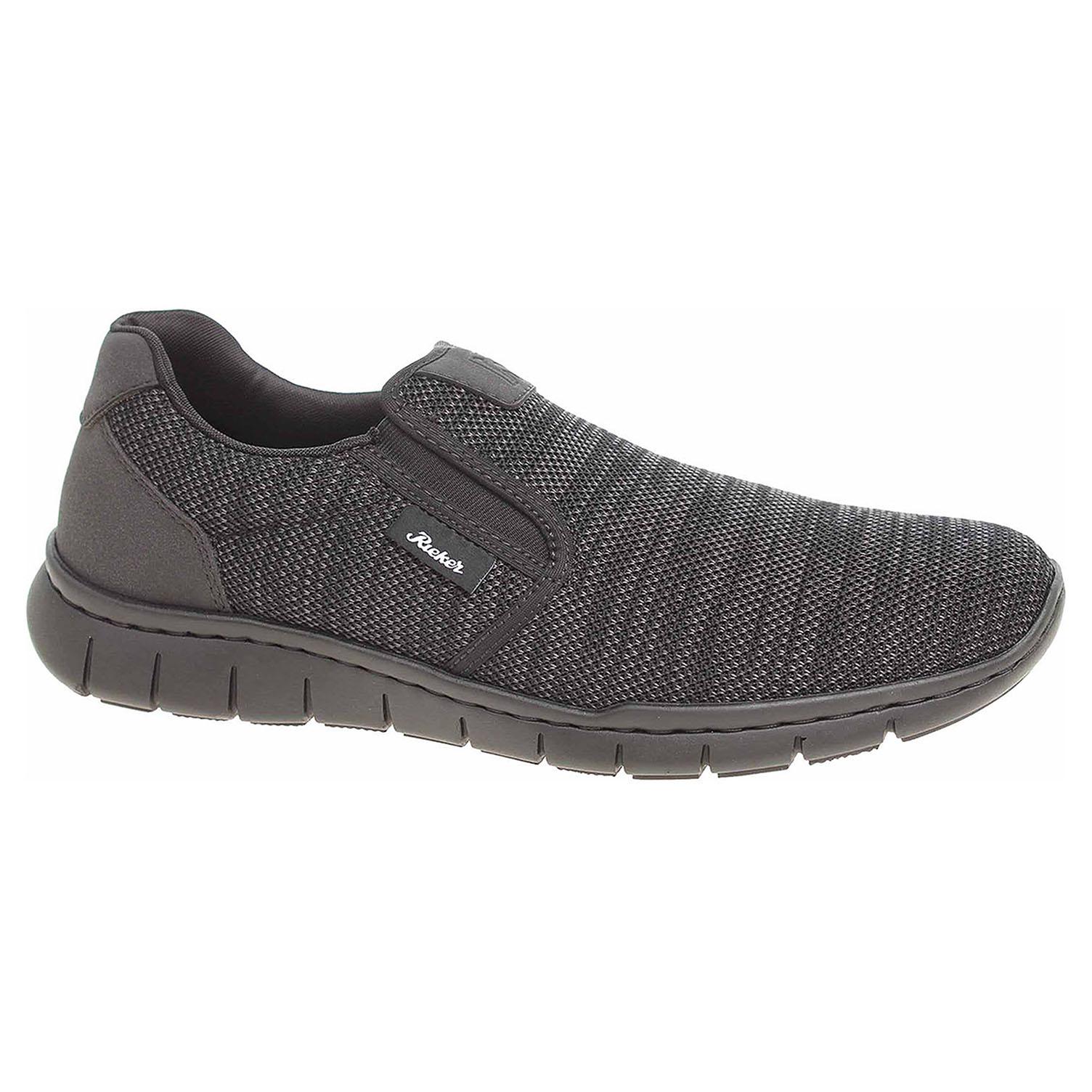 736564dce45bb Pánska topánky Rieker B8760-42 grau kombi | REJNOK obuv