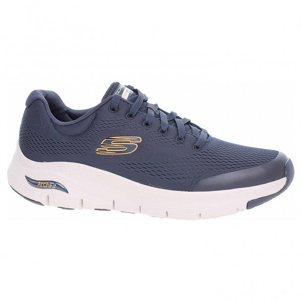detail Skechers Arch Fit navy