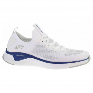 Skechers Solar Fuse - Valedge white-blue
