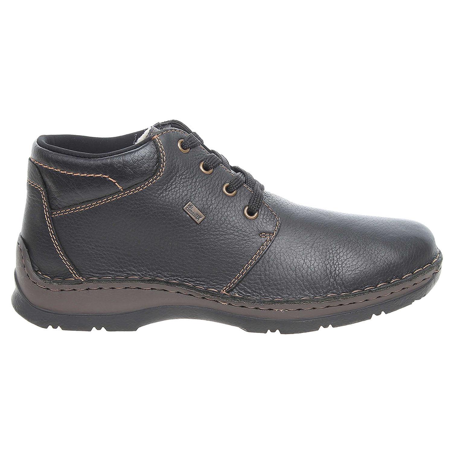 a562c331895d6 Rieker kotníkové pánské 05305-00 černé | REJNOK obuv