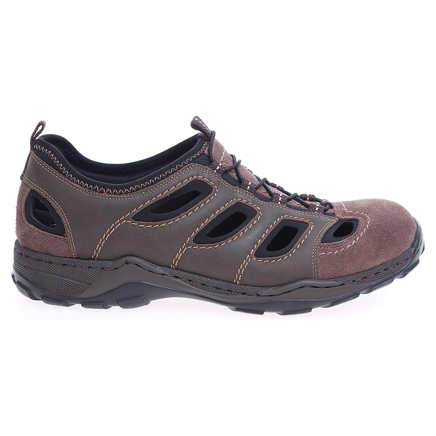 outlet boutique hot new products buy online Rieker pánské sandály 08065-26 hnědé