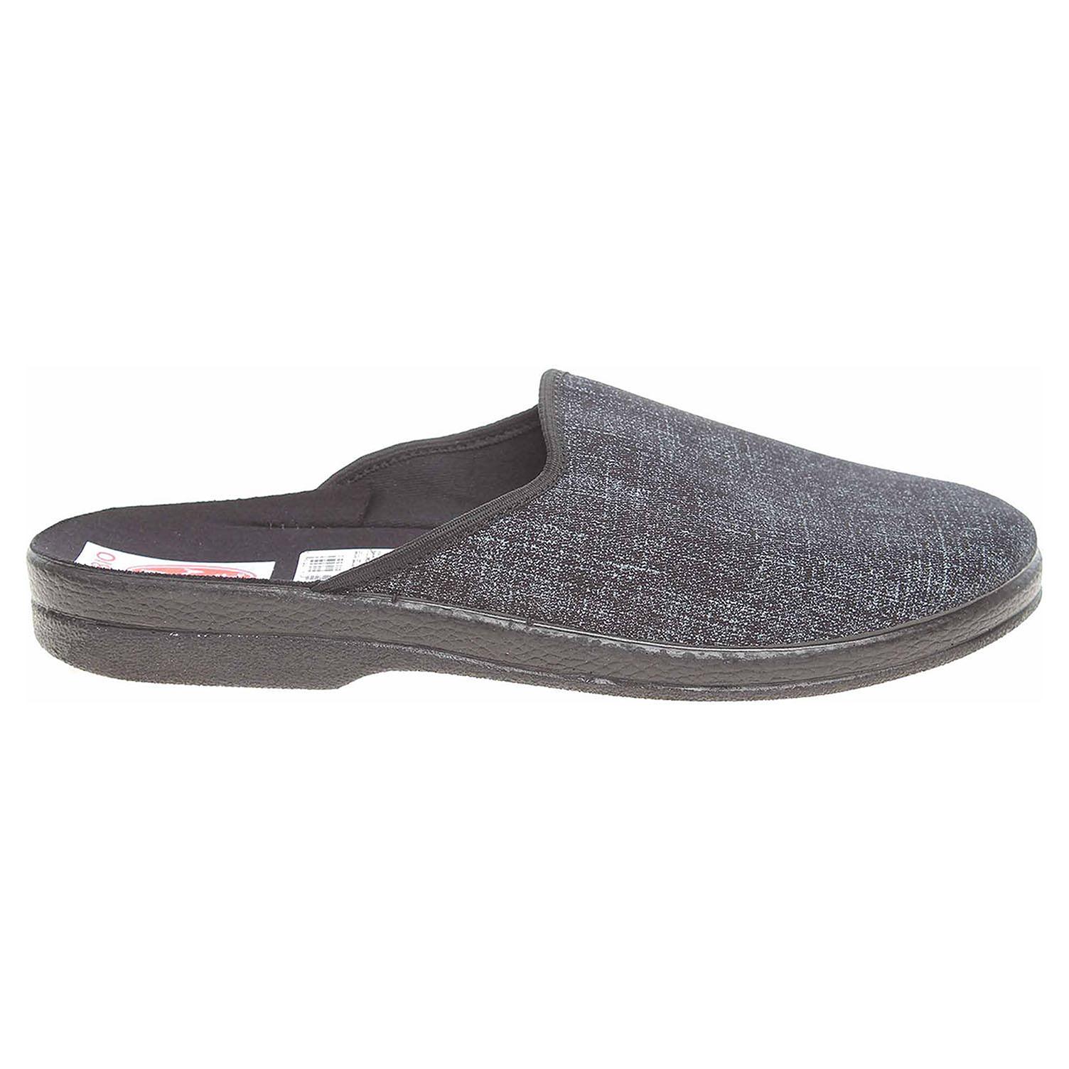 Rogallo pánské domácí pantofle 21774 modrá  80209bc3ba