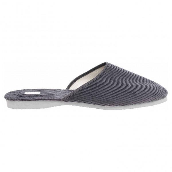 01251f93ffae detail Pegres pánské domácí pantofle 1009.01 šedá