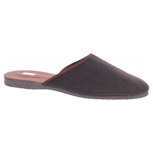 detail Pegres pánské domácí pantofle 1009.01 hnědá ebc00842e6