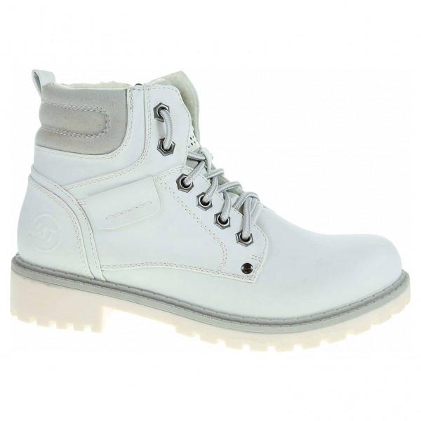 9a11a1f26c5a8 Dámska členkové topánky Marco Tozzi 2-26272-39 bílé | REJNOK obuv