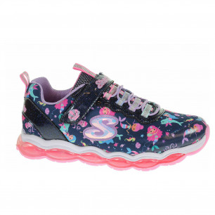 Skechers S Lights - Glimmer Lights - Sea Glow navy-multi