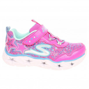Skechers S Lights - Galaxy Lights neon-pink-multi