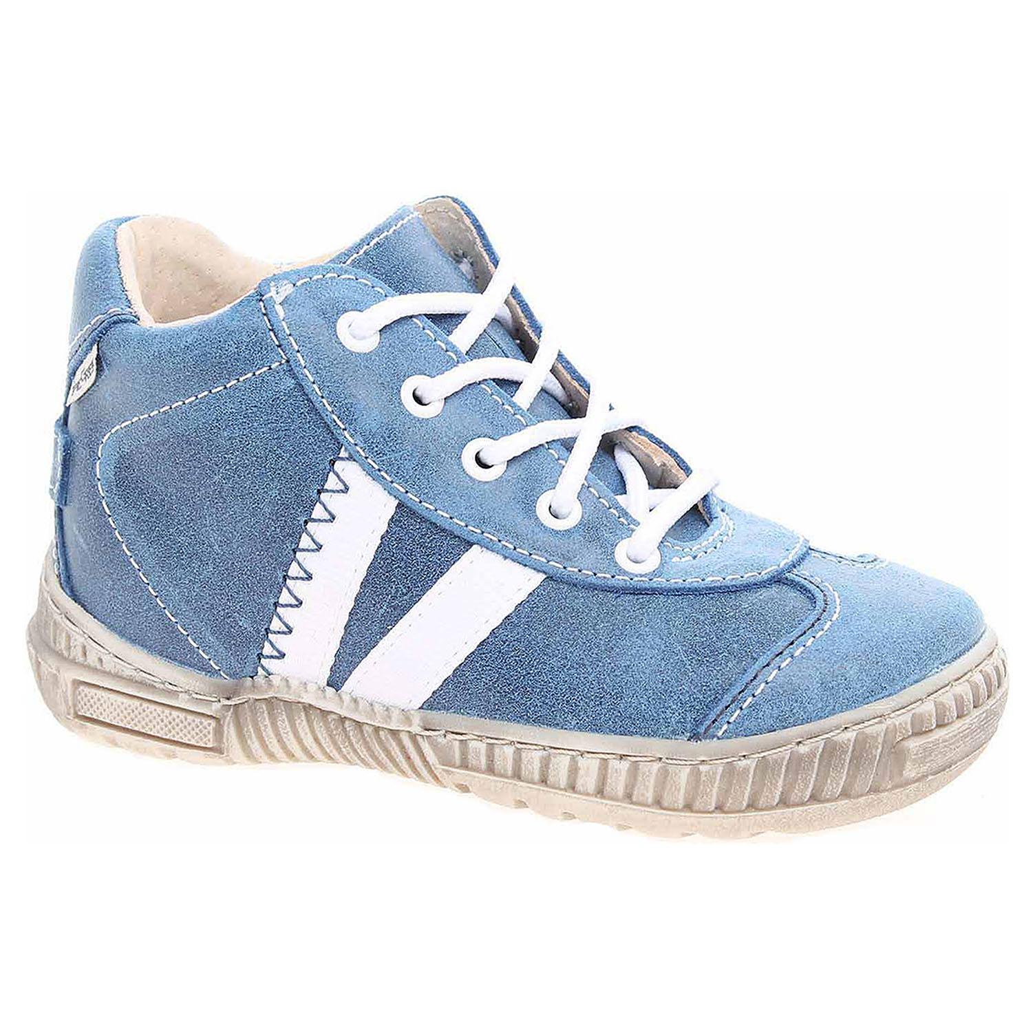 14eded70a9204 Chlapecká členkové topánky Pegres 1401.00 modrá | REJNOK obuv