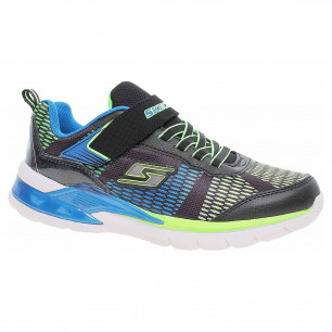 Skechers S Lights-Erupters II - Lava Wave black-blue-lime