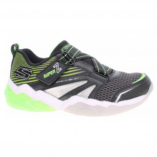 Skechers S Lights-Rapid Flash 2.0 - Soluxe black-lime